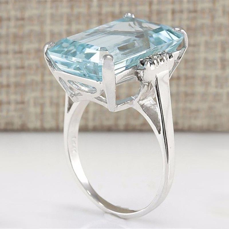 5X-Cristal-Azul-Claro-Anillos-Cercanos-Para-Mujeres-Joyas-De-Zafiro-PiedrasU8B3 miniatura 14
