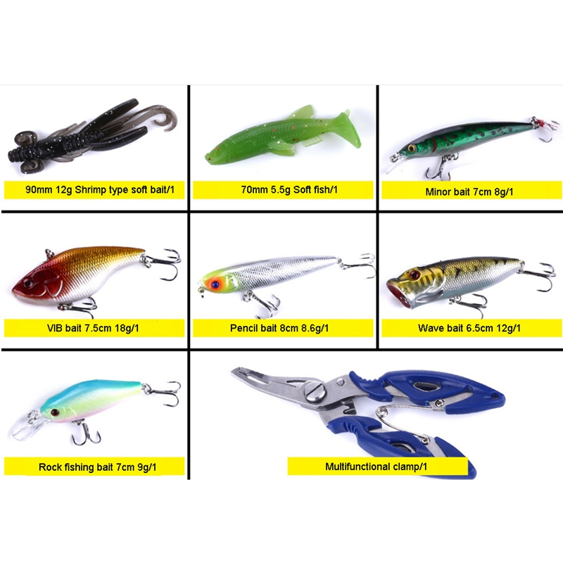 10Pc 3.3 /'/'Soft Fishing Lures Worms Floating Tackle Bass Silicone Swimbait Hook