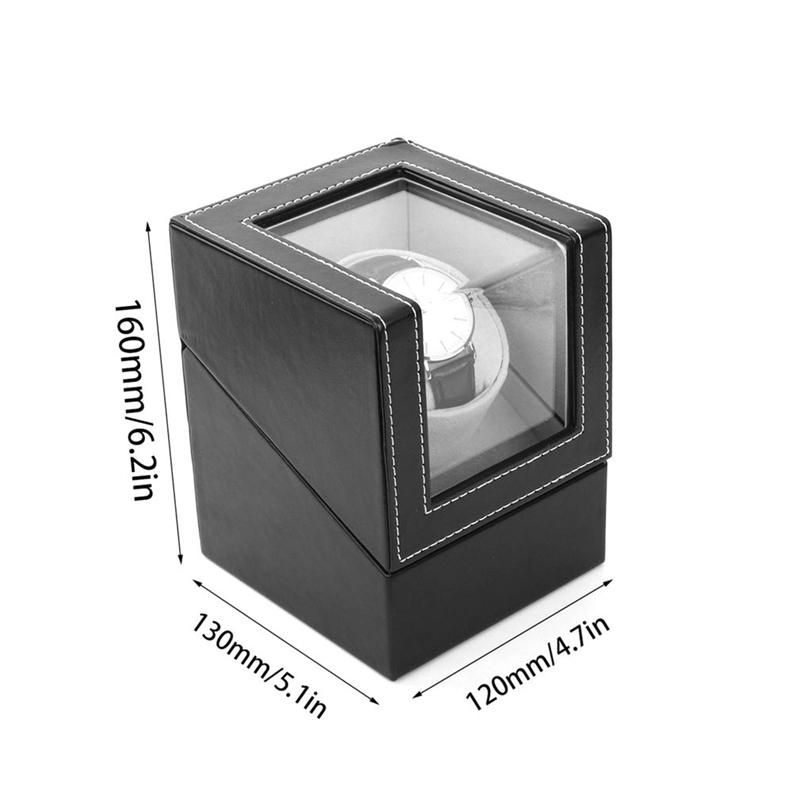 1X-Advanced-Motor-Vibrating-Screen-Watch-Winder-Stand-Display-Automatic-MecC4N8 thumbnail 5