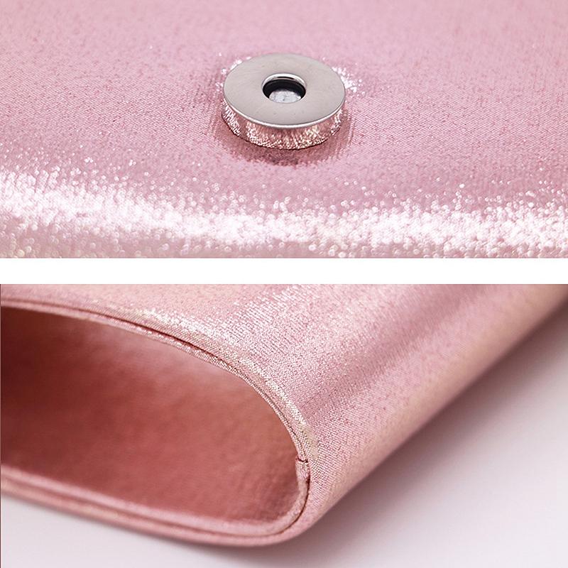 Women-Glittered-Envelope-Clutch-Purse-Evening-Bag-Lustrous-Party-Handbag-Shi-7J3 thumbnail 10