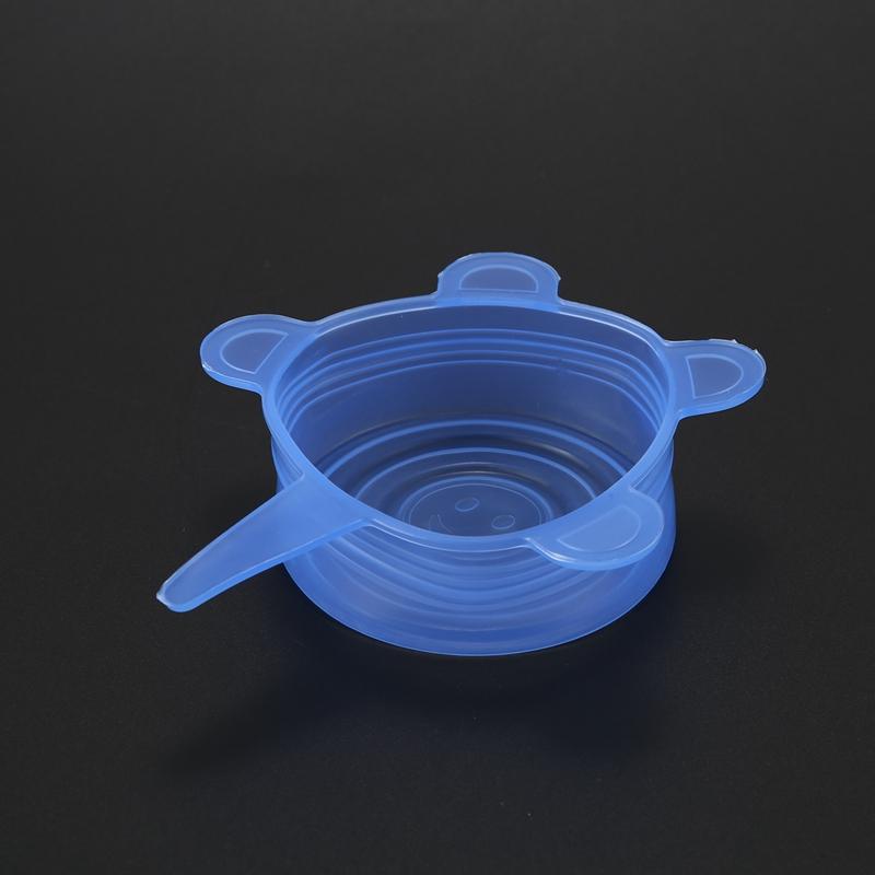 6-Piezas-Tapas-de-Estiramiento-de-Silicona-Envolturas-de-Alimentos-Frescos-F7M6 miniatura 8
