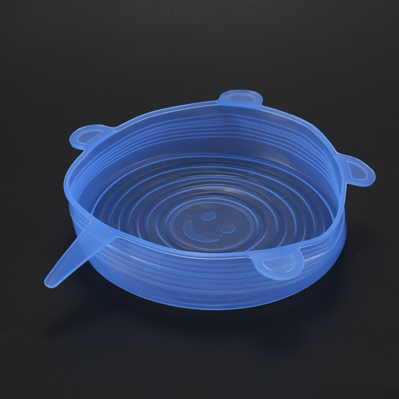 6-Piezas-Tapas-de-Estiramiento-de-Silicona-Envolturas-de-Alimentos-Frescos-F7M6 miniatura 10