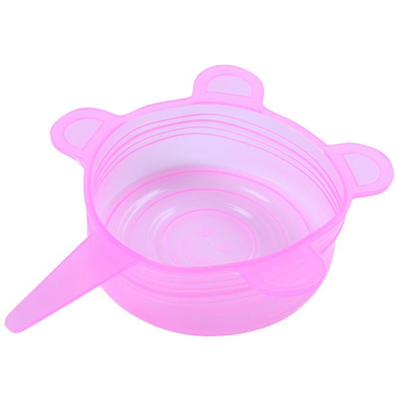 6-Piezas-Tapas-de-Estiramiento-de-Silicona-Envolturas-de-Alimentos-Frescos-F7M6 miniatura 19