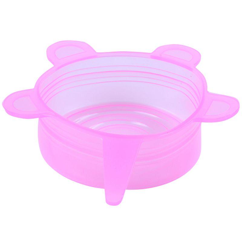 6-Piezas-Tapas-de-Estiramiento-de-Silicona-Envolturas-de-Alimentos-Frescos-F7M6 miniatura 21