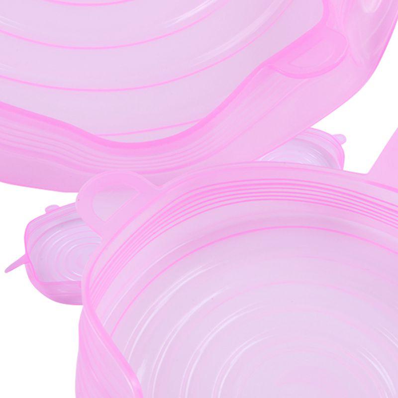 6-Piezas-Tapas-de-Estiramiento-de-Silicona-Envolturas-de-Alimentos-Frescos-F7M6 miniatura 22
