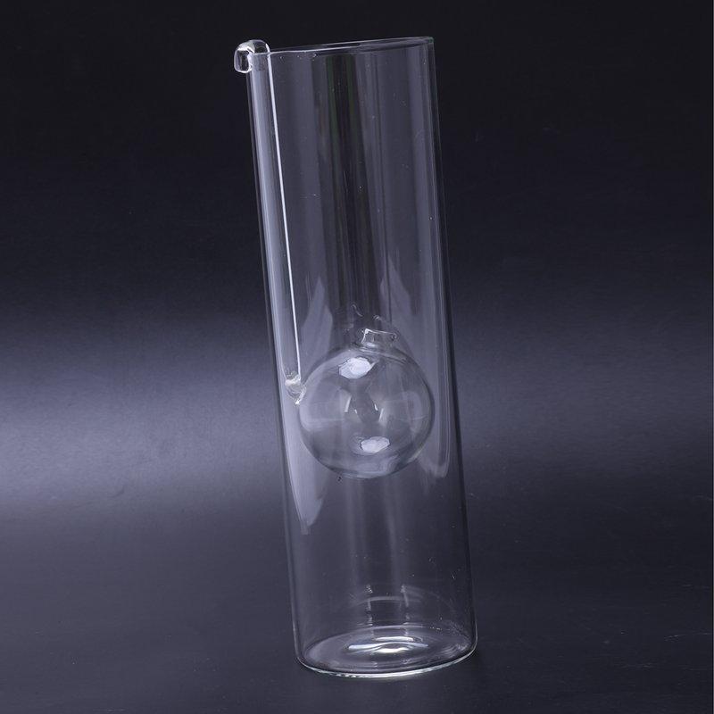 Lampe-A-Huile-En-Verre-Diner-Aux-Lueur-de-Chandelles-Bougeoirs-Cylindre-Tra-N1D1 miniature 5