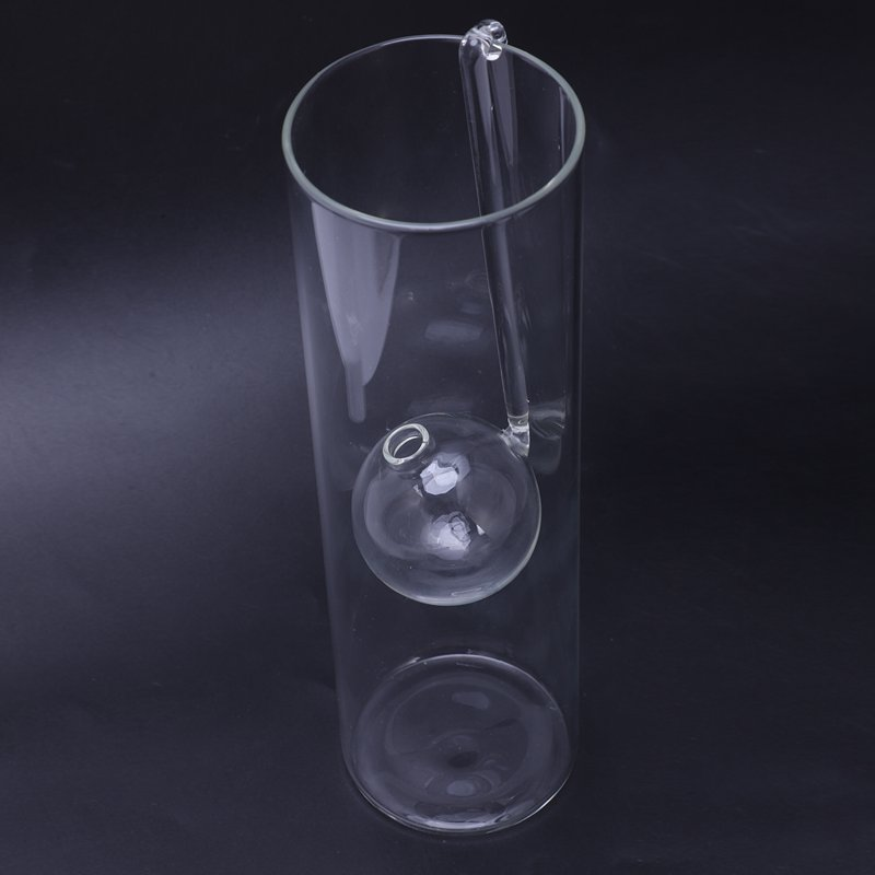 Lampe-A-Huile-En-Verre-Diner-Aux-Lueur-de-Chandelles-Bougeoirs-Cylindre-Tra-N1D1 miniature 9