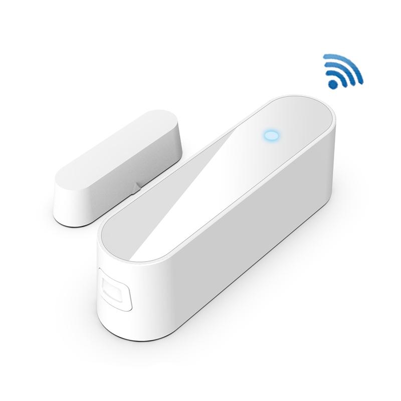 Detector de puerta ventana 6X (Wi-Fi App alertas de notificaciones con pilas Famil S1M8