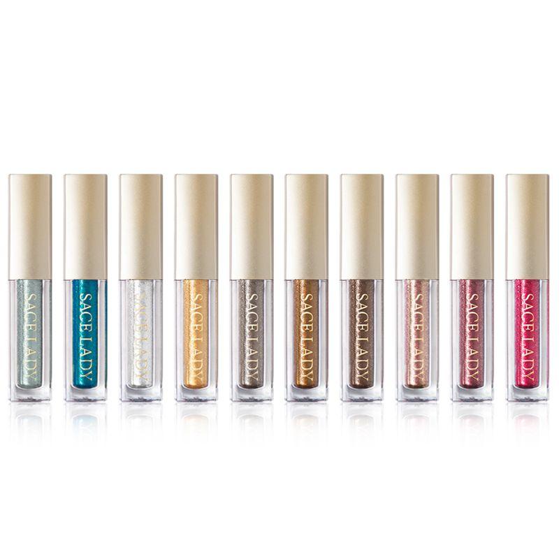 Sace-Lady-Glitter-Eyeshadow-Makeup-Liquid-Shimmer-Eye-Shadow-Metals-Illumin-V0J1 thumbnail 4