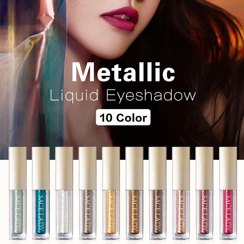Sace-Lady-Glitter-Eyeshadow-Makeup-Liquid-Shimmer-Eye-Shadow-Metals-Illumin-V0J1 thumbnail 7