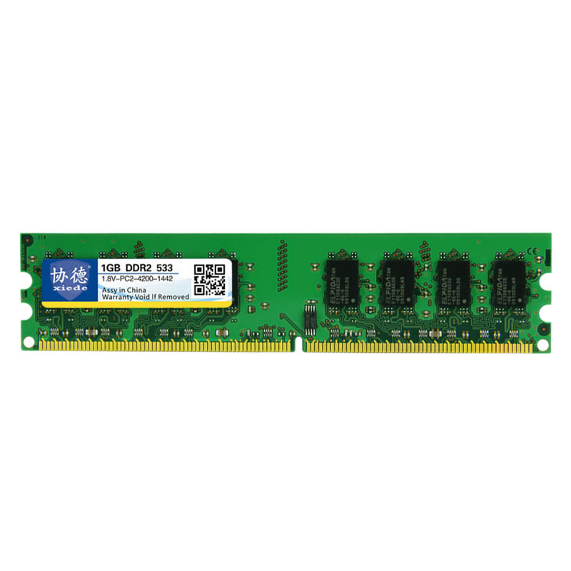 Xiede-Desktop-Computer-Memory-Ram-Module-Ddr2-533-Pc2-4200-240Pin-Dimm-533M-O8J4 thumbnail 4