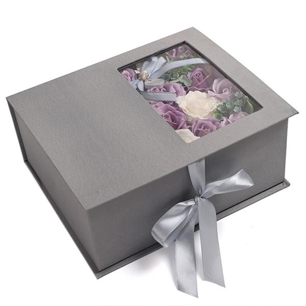 Jabon-Perfumado-Rosa-Artificial-Caja-De-Regalo-Rosa-Angel-De-Bano-Boda-Cum-C9N5 miniatura 9