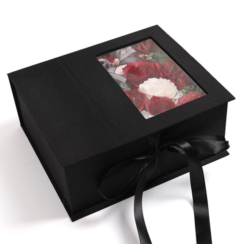 Jabon-Perfumado-Rosa-Artificial-Caja-De-Regalo-Rosa-Angel-De-Bano-Boda-Cum-C9N5 miniatura 16