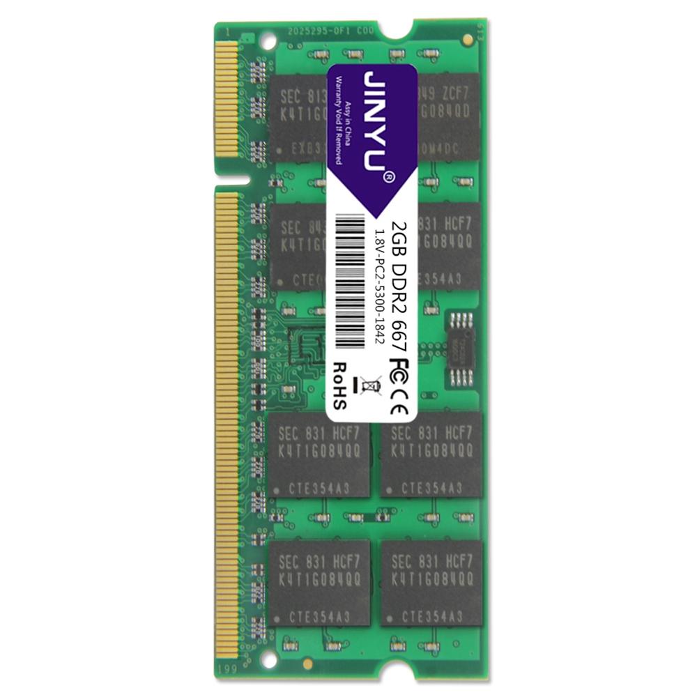 Jinyu-Ddr2-667Mhz-1-8V-240Pin-Ram-Memory-For-Laptop-N5E7 thumbnail 5