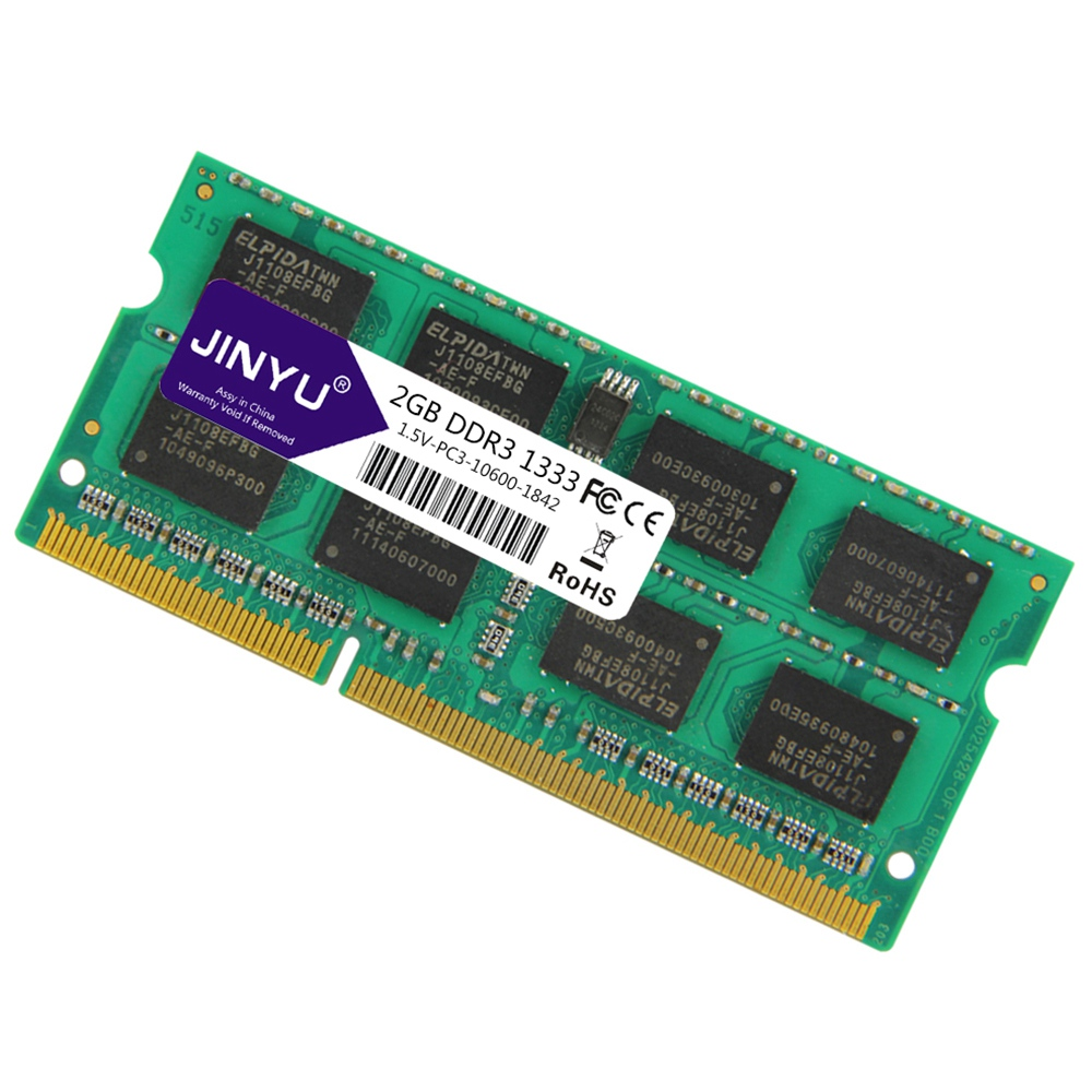 Jinyu-Ddr3-2G-1-5V-204Pin-Ram-Memory-For-Laptop-X8S2 thumbnail 3