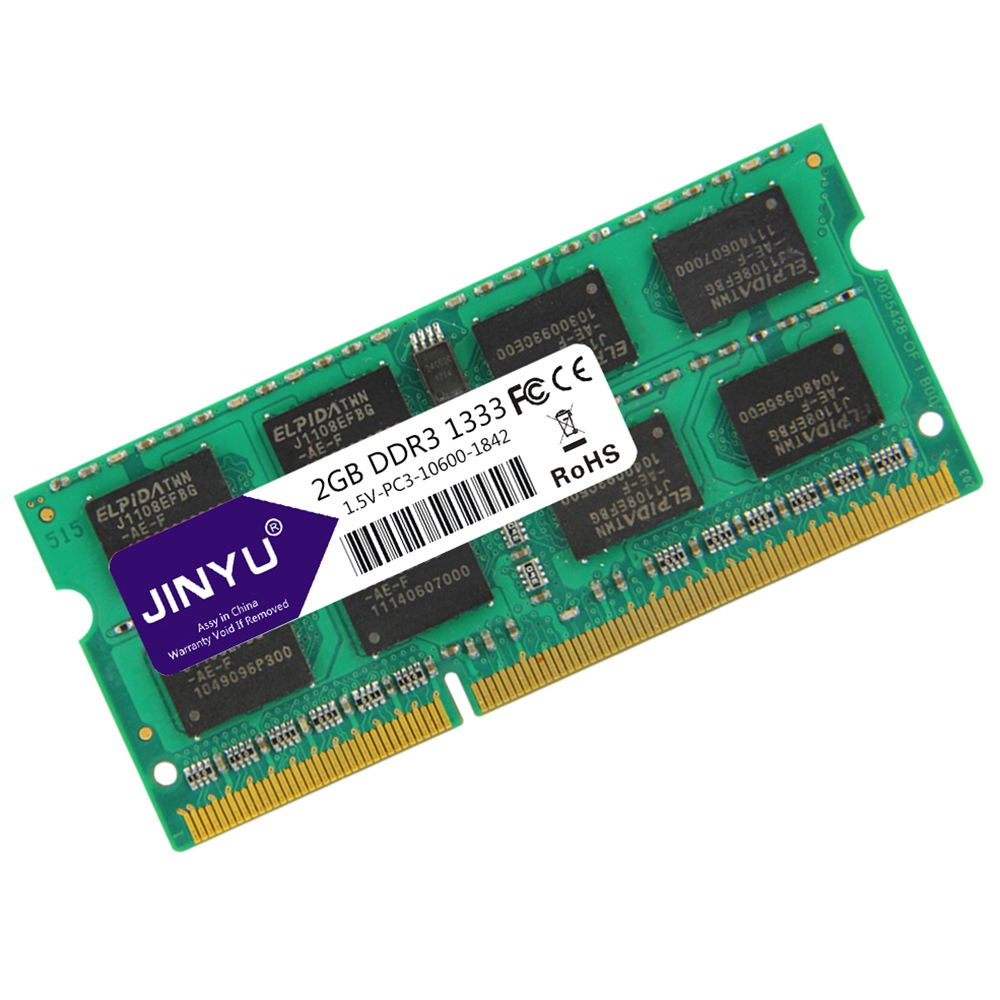 Jinyu-Ddr3-2G-1-5V-204Pin-Ram-Memory-For-Laptop-X8S2 thumbnail 4