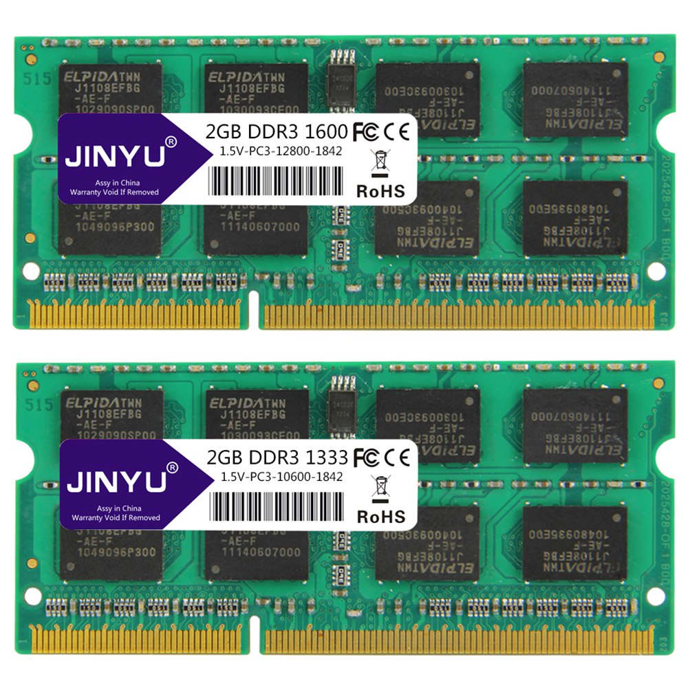 Jinyu-Ddr3-2G-1-5V-204Pin-Ram-Memory-For-Laptop-X8S2 thumbnail 6
