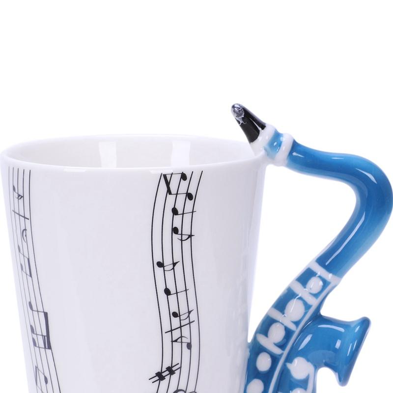 Saxofon-Ceramica-Tazas-De-Cafe-Taza-De-Leche-De-Porcelana-Tazas-De-Te-Notas-I4Q5 miniatura 18