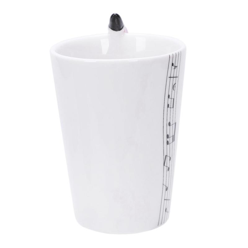 2X-Saxophon-Keramik-Kaffee-Tassen-Porzellan-Milch-Becher-Tee-Schalen-Musik-W5C6 Indexbild 24