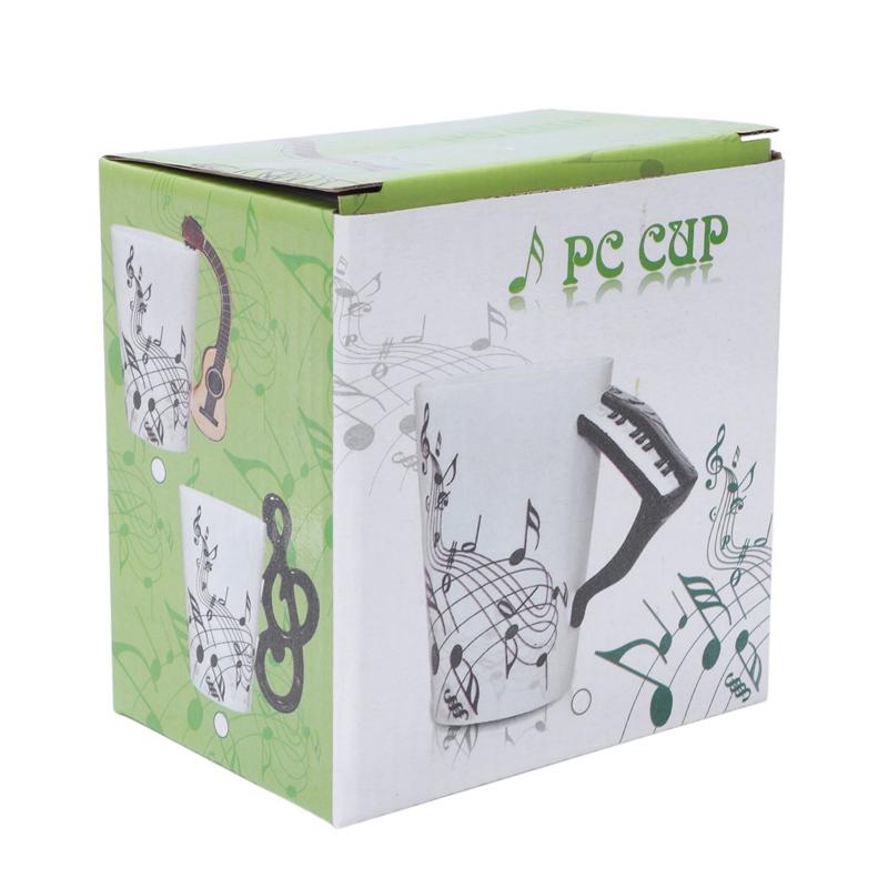 2X-Saxophon-Keramik-Kaffee-Tassen-Porzellan-Milch-Becher-Tee-Schalen-Musik-W5C6 Indexbild 30