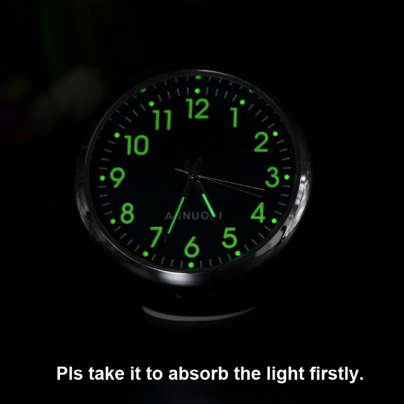 Mini Uhr Im Auto Luminova Mechanics Quarz Taktgeber Mini Auto Uhr Digital Aut 4I