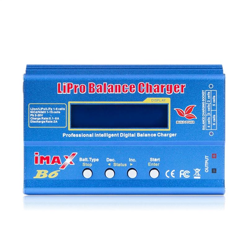 2X(Imax B6 12V Chargeur de Batterie 80W Lipro Chargeur de Balance Nimh Li-I 8D8)