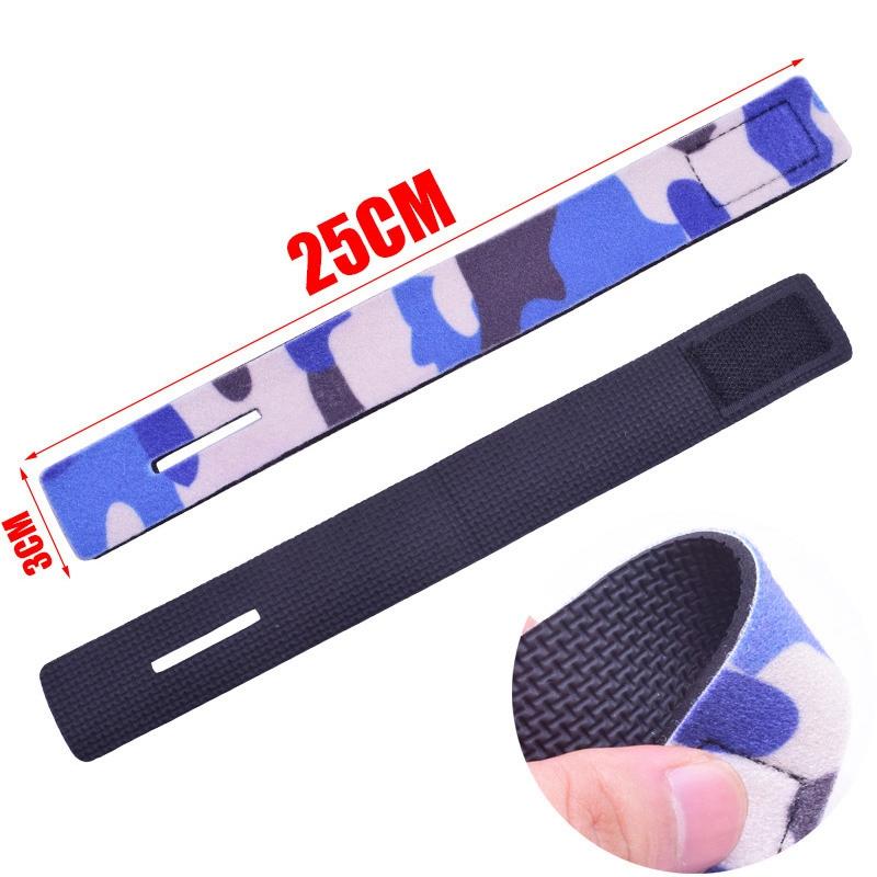 Reusable-Fishing-Rod-Tie-Holder-Strap-Suspenders-Rod-Belt-Hook-Loop-Cable-T-P2Z7 miniatuur 7
