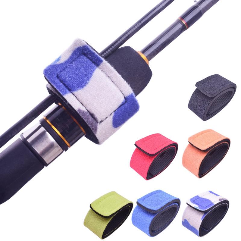 Reusable-Fishing-Rod-Tie-Holder-Strap-Suspenders-Rod-Belt-Hook-Loop-Cable-T-P2Z7 miniatuur 8