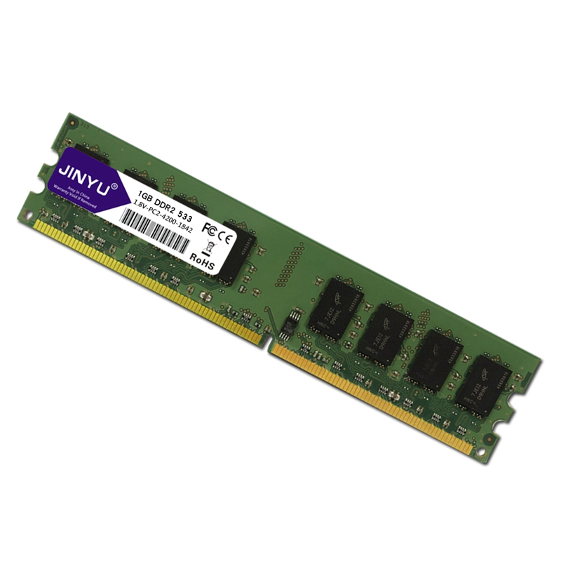 JINYU-DDR2-1G-1-8V-240Pin-Gaming-RAM-Memory-For-Desktop-J4K5 thumbnail 3