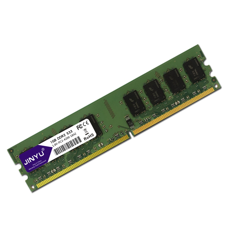 JINYU-DDR2-1G-1-8V-240Pin-Gaming-RAM-Memory-For-Desktop-J4K5 thumbnail 4