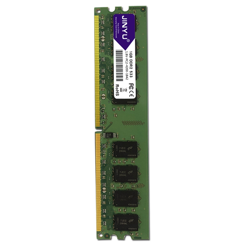 JINYU-DDR2-1G-1-8V-240Pin-Gaming-RAM-Memory-For-Desktop-J4K5 thumbnail 5