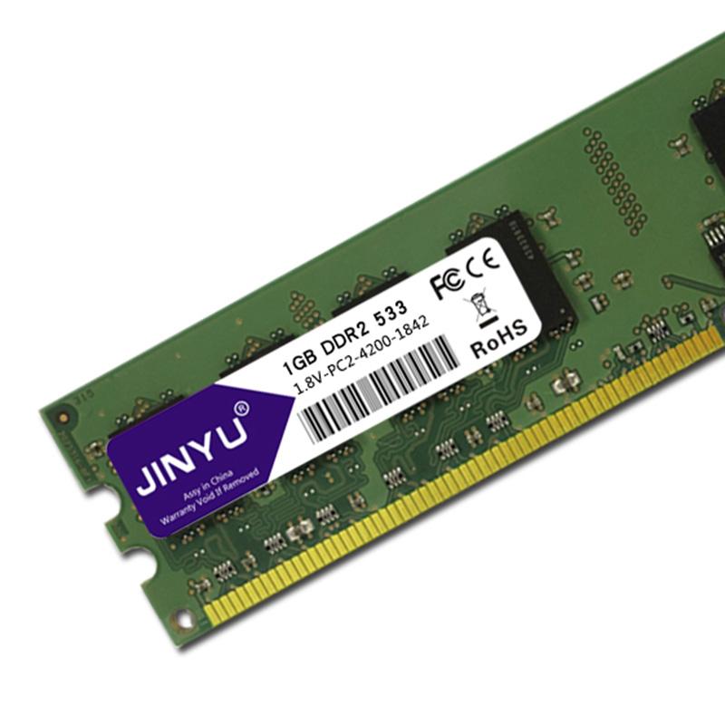 JINYU-DDR2-1G-1-8V-240Pin-Gaming-RAM-Memory-For-Desktop-J4K5 thumbnail 6