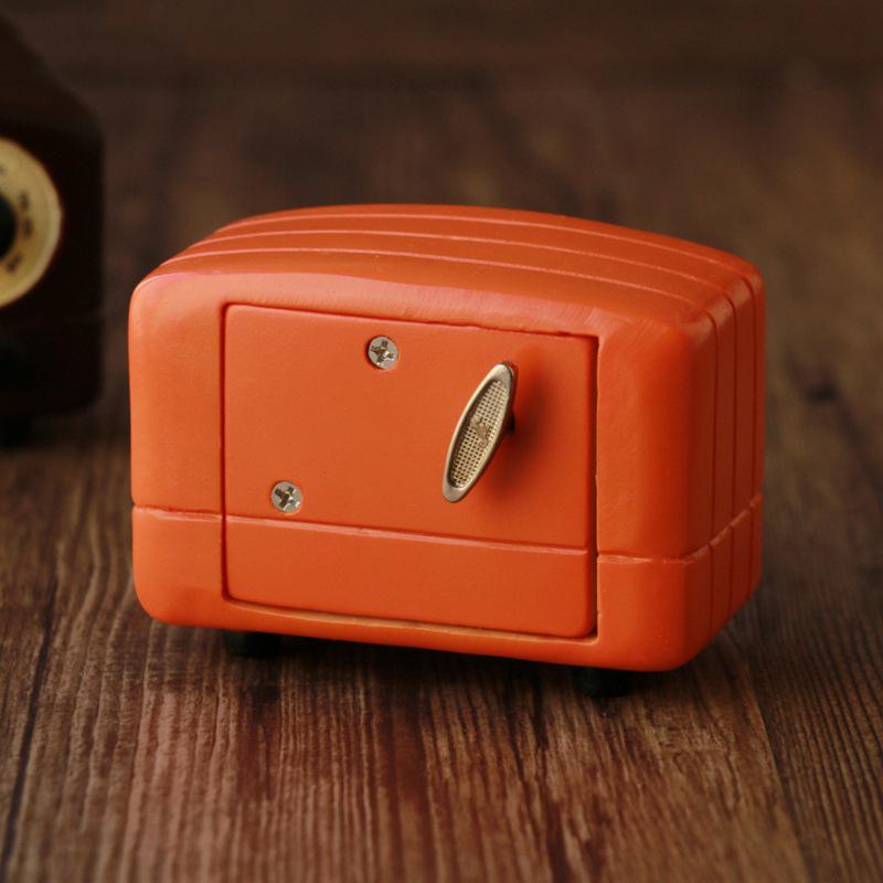 Retro-Nostalgic-Radio-Music-Box-Home-Decorations-1Pcs-Classical-Square-Hand-W4X6 thumbnail 4