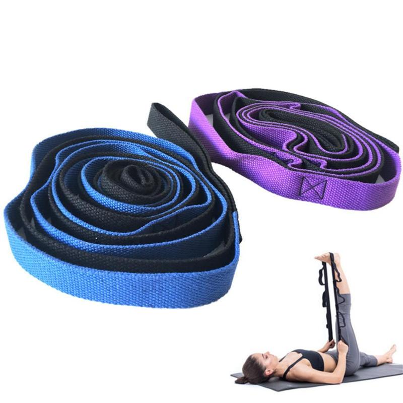 2M-6-6Ft-Yoga-Stretch-Strap-Aerial-Yoga-Anti-Gravity-Rope-With-Grip-Loops-F-L1R2 thumbnail 4