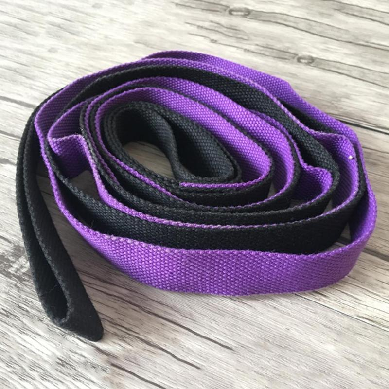 2M-6-6Ft-Yoga-Stretch-Strap-Aerial-Yoga-Anti-Gravity-Rope-With-Grip-Loops-F-L1R2 thumbnail 5