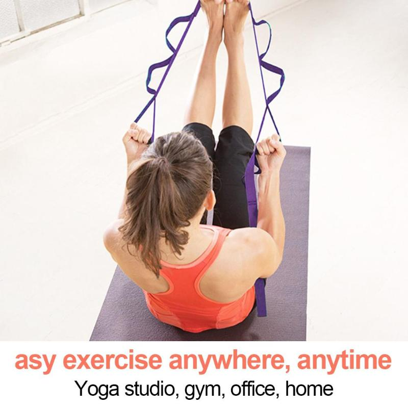 2M-6-6Ft-Yoga-Stretch-Strap-Aerial-Yoga-Anti-Gravity-Rope-With-Grip-Loops-F-L1R2 thumbnail 8