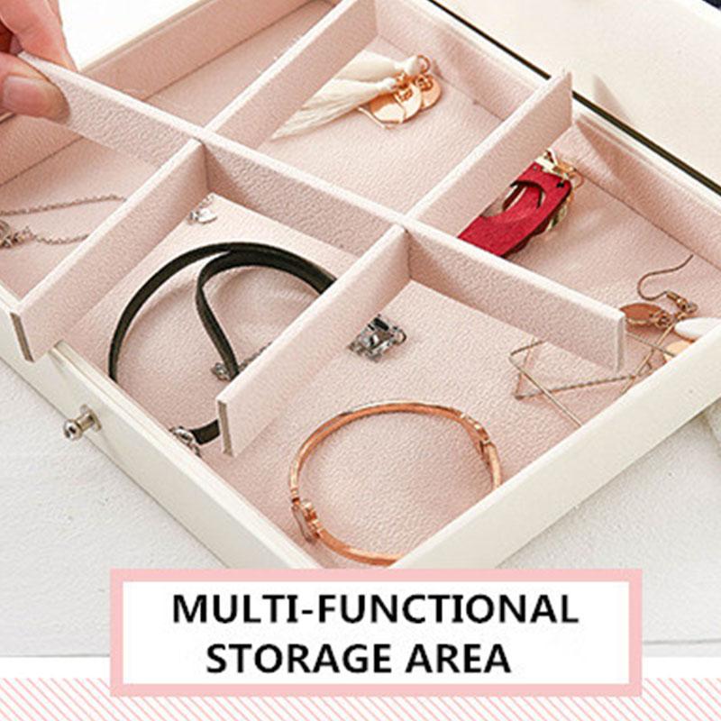 Design-De-Mode-En-Cuir-Boite-A-Bijoux-Coffret-A-Bijoux-Paquet-De-Bijoux-Sto-K6E3 miniature 7
