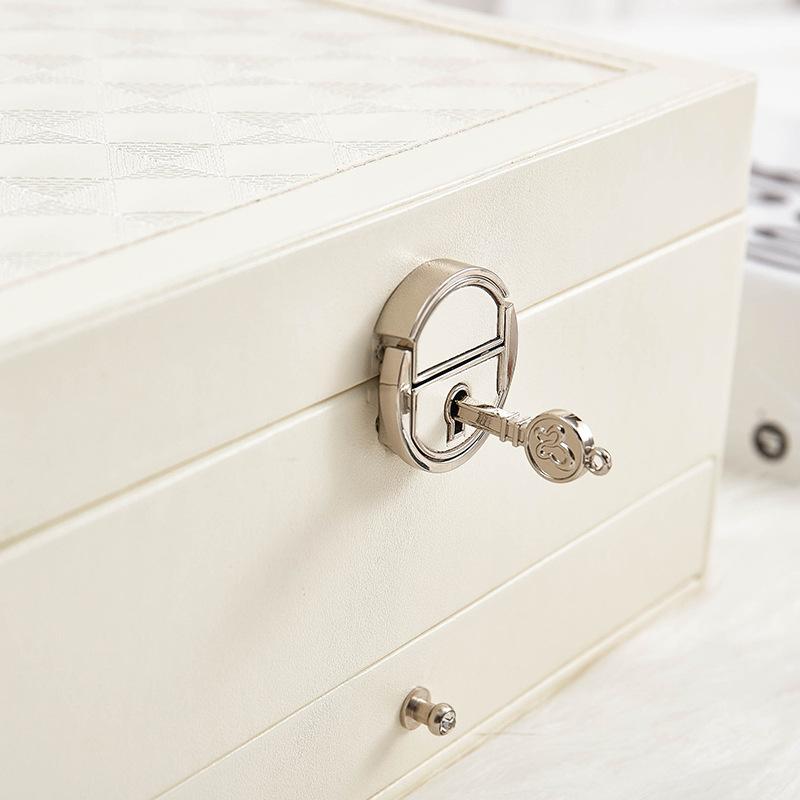 Design-De-Mode-En-Cuir-Boite-A-Bijoux-Coffret-A-Bijoux-Paquet-De-Bijoux-Sto-K6E3 miniature 8