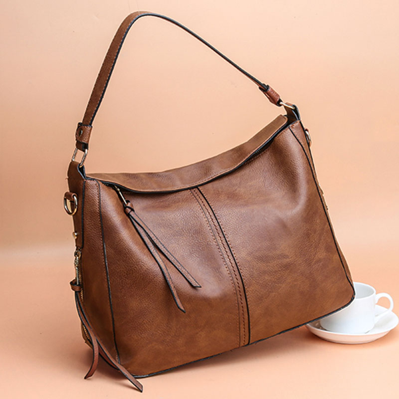 Women-handbags-women-shoulder-bag-large-tote-bags-hobo-soft-leather-ladies-R4X6 thumbnail 15