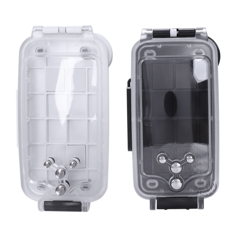 premium selection 2516b a1d44 Details about For Iphone 8 Plus Case Water Proof Underwater 40M Waterproof  Diving Housing B4B1
