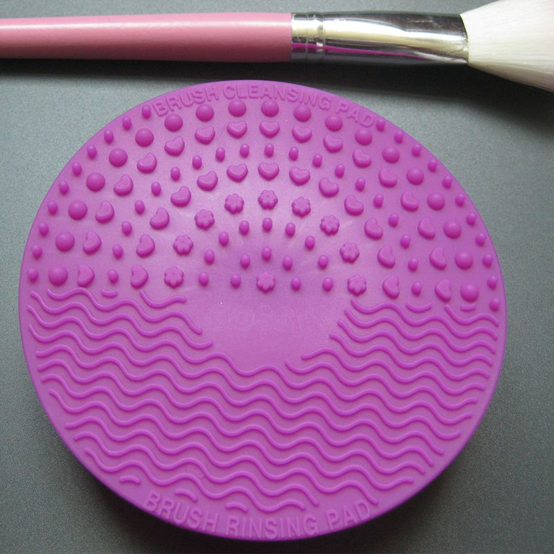 Silicone-Makeup-Brush-Cleansing-Pad-Palette-Brush-Cleaner-Cleaning-Mat-Wash-O2V1 thumbnail 24