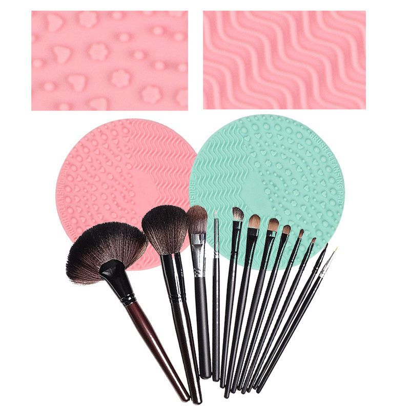Silicone-Makeup-Brush-Cleansing-Pad-Palette-Brush-Cleaner-Cleaning-Mat-Wash-O2V1 thumbnail 34