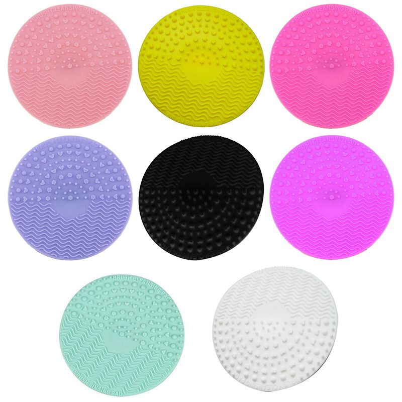 Silicone-Makeup-Brush-Cleansing-Pad-Palette-Brush-Cleaner-Cleaning-Mat-Wash-O2V1 thumbnail 43