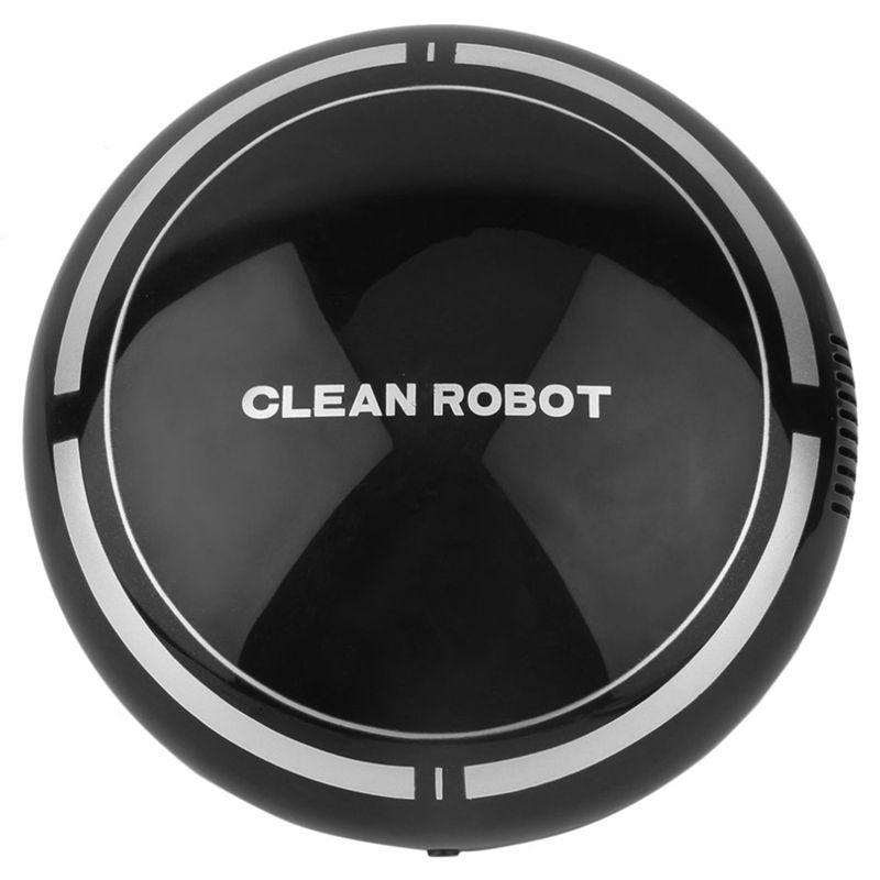 2-en-1-Robot-de-Barrido-de-Piso-Recargable-Colector-de-Polvo-Aspiradora-Robo-3N4 miniatura 4
