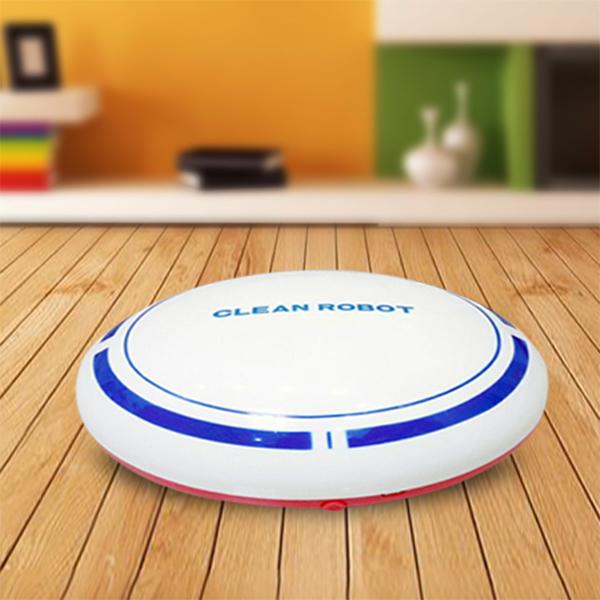 2-en-1-Robot-de-Barrido-de-Piso-Recargable-Colector-de-Polvo-Aspiradora-Robo-3N4 miniatura 13