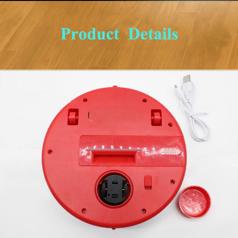 2-en-1-Robot-de-Barrido-de-Piso-Recargable-Colector-de-Polvo-Aspiradora-Robo-3N4 miniatura 14
