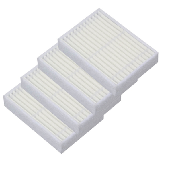Professional Sale 6pcs Replacement Hepa Filter For Panda X600 Pet Kitfort Kt504 For Robotic Robot Vacuum Cleaner Accessories Cleaning Appliance Parts
