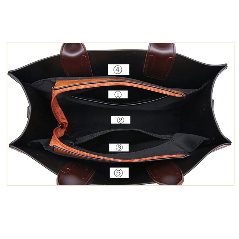 1X-Womens-Leather-Handbags-Large-Capacity-Retro-Vintage-Hand-Top-Handle-BagC6S8 thumbnail 5