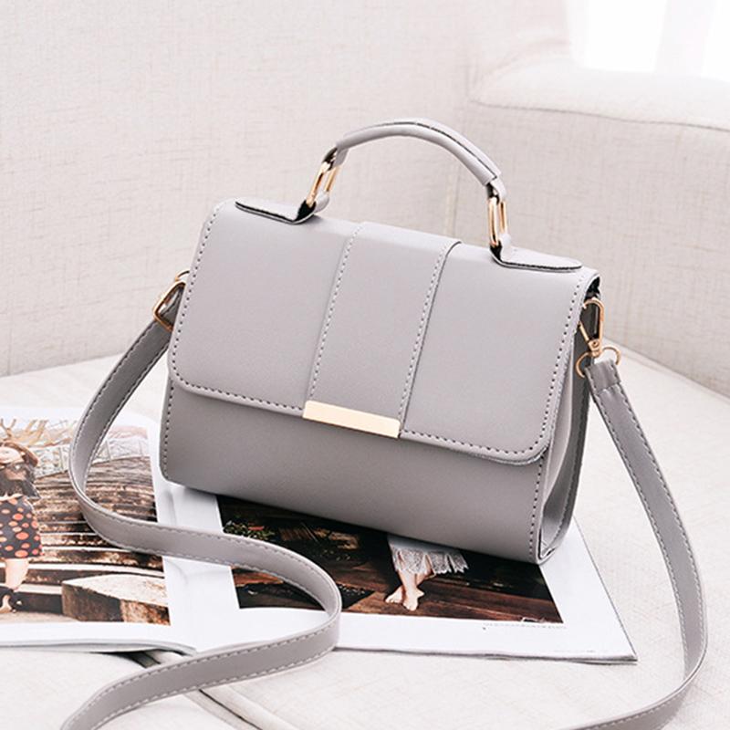 1X-Sommer-Mode-Frauen-Tasche-Handtaschen-PU-Umhaenge-Tasche-Kleine-Klappe-Kr-I6K4 Indexbild 3
