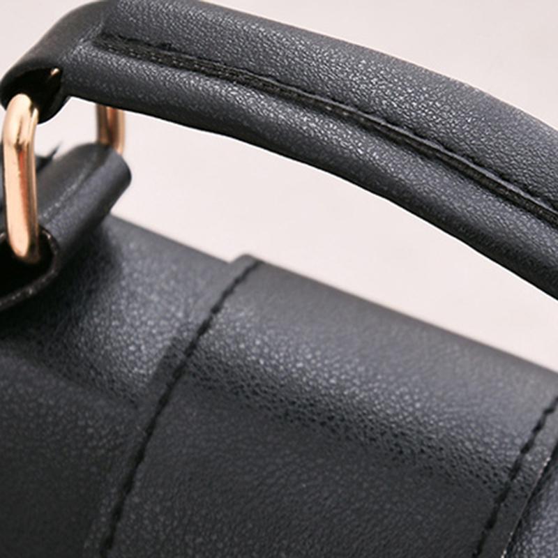 1X-Sommer-Mode-Frauen-Tasche-Handtaschen-PU-Umhaenge-Tasche-Kleine-Klappe-Kr-I6K4 Indexbild 5